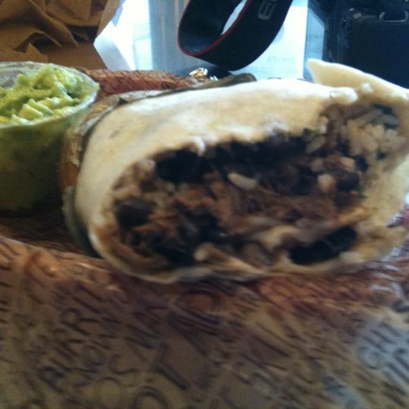 Burrito @ Chipotle Mexican Grill