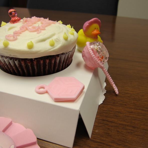 Giant Red Velvet Cupcake @ Sibby's Cupcakery