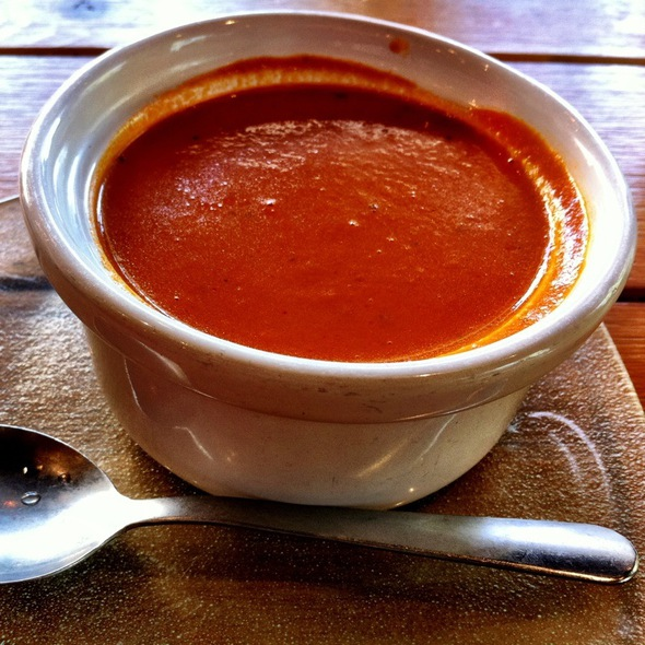 Roasted Tomato & Basil Bisque @ Bakeshop