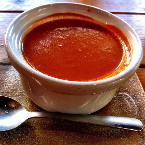 Roasted Tomato & Basil Bisque @ Bakeshop