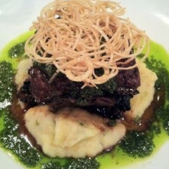 Minty Churrasco W/ Mash Yuca @ Laurel Kitchen-Art