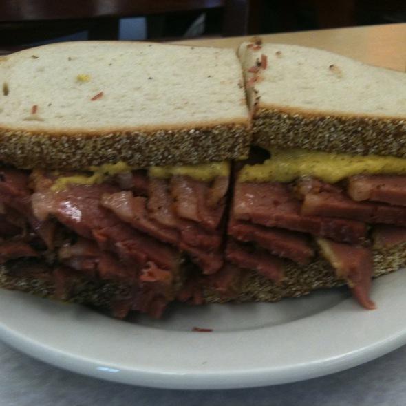 Pastrami Sandwich on Rye @ Katz's Delicatessen Inc