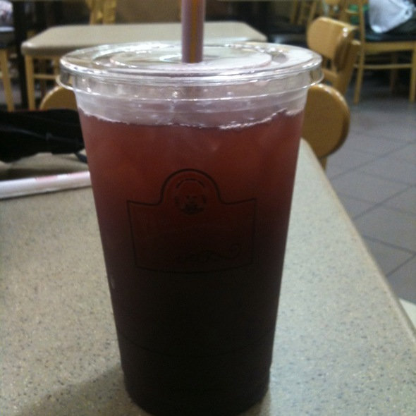 Wild Berries Iced Tea @ Wendy's