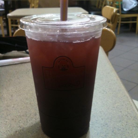 Wild Berries Iced Tea @ Wendy's