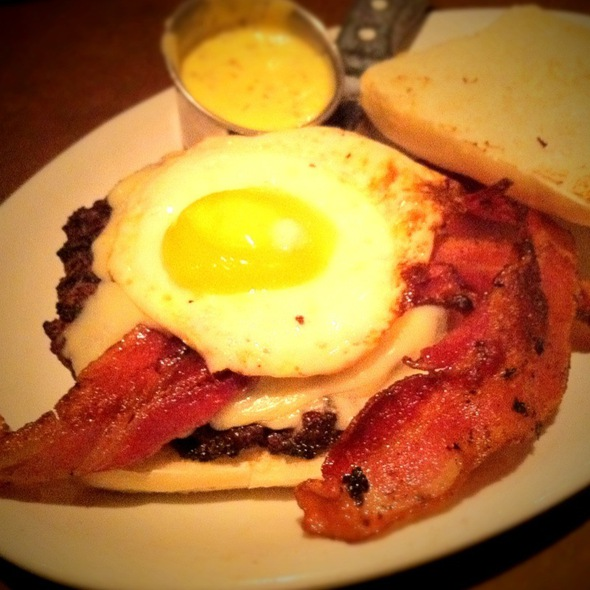 Bacon & Egg Burger @ Kenny's Burger Joint