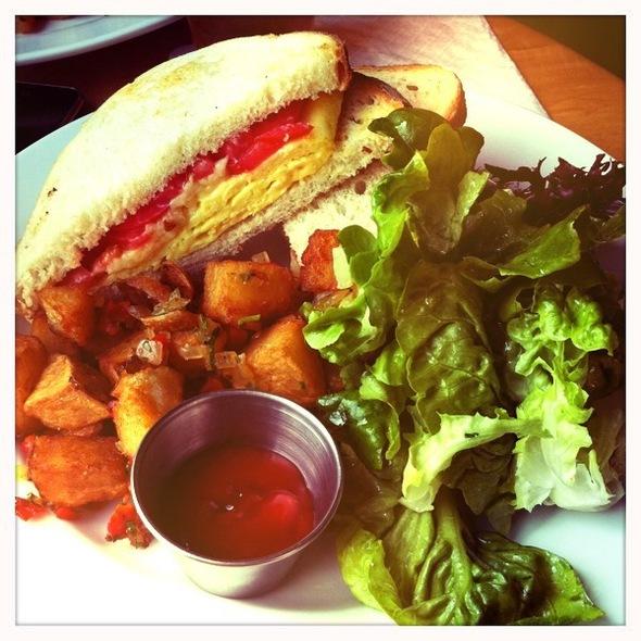 Breakfast Sandwich @ Kraftwork