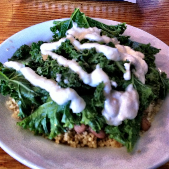 Beans & Greens @ The Wild Cow