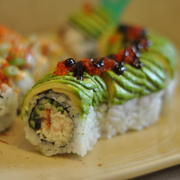 Caterpillar Roll @ Red Tuna Sushi & Noodle & Cafe