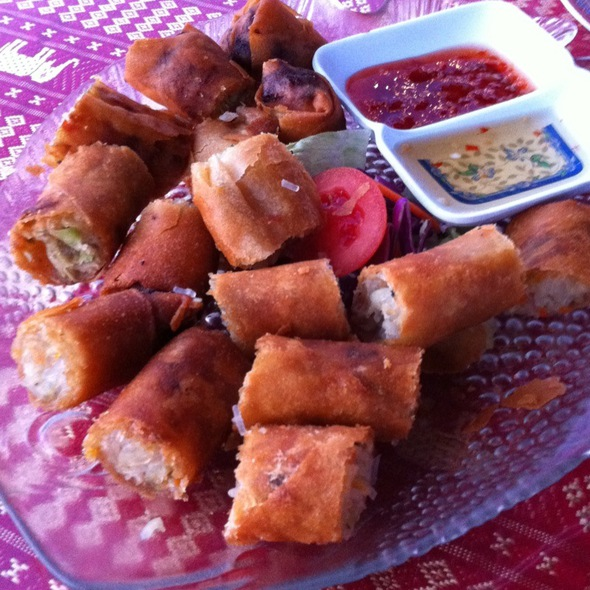 Phucket Fried Spring Rolls - Thai Life Floating Restaurant, Key West, FL