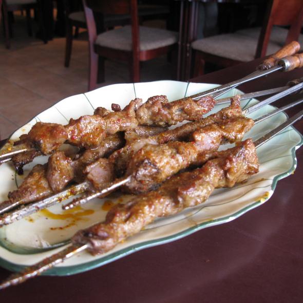 Xinjiang Lamb Skewers @ Xin Jiang Restaurant