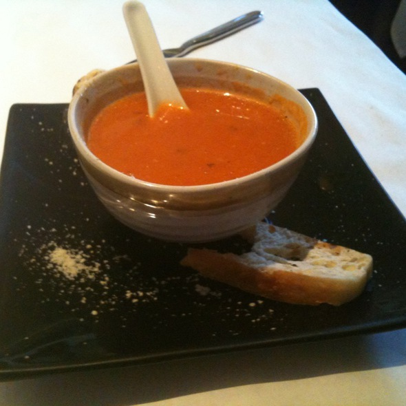 Tomato Bisque - Blue Bamboo Hip Asian Kitchen, Jacksonville, FL