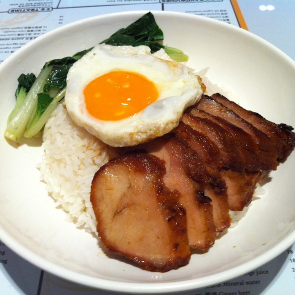 Sous Vide Charsiu Fried Egg 犀飛利叉蛋