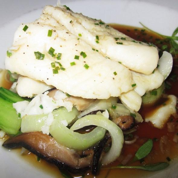 Steamed Gulf Flounder @ One Market Restaurant