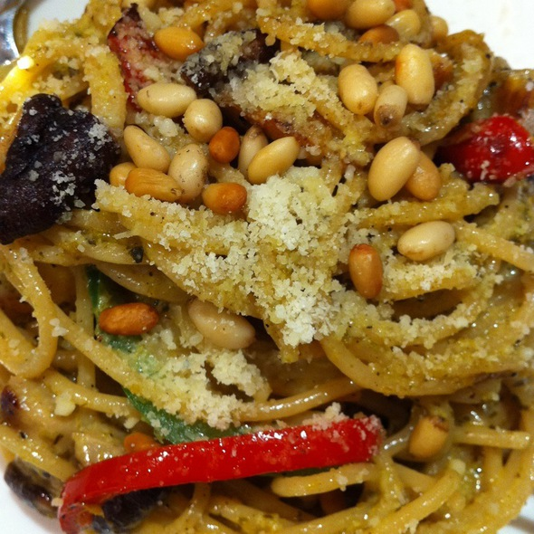 Green Curry Spagetti  @ Kechara Oasis New Age Vegetarian Restaurant