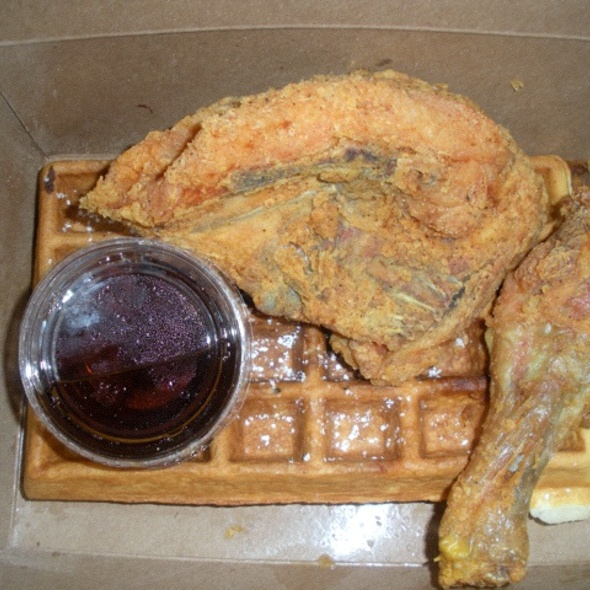 2 Pc Chicken And Waffles @ Little Skillet