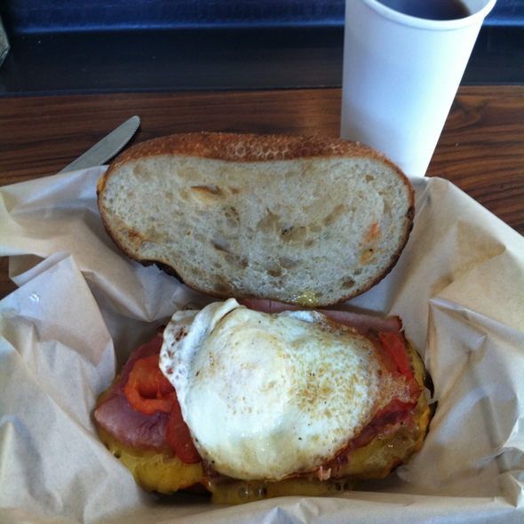Piglet Breakfast Grilled Cheese @ The American Grilled Cheese Kitchen