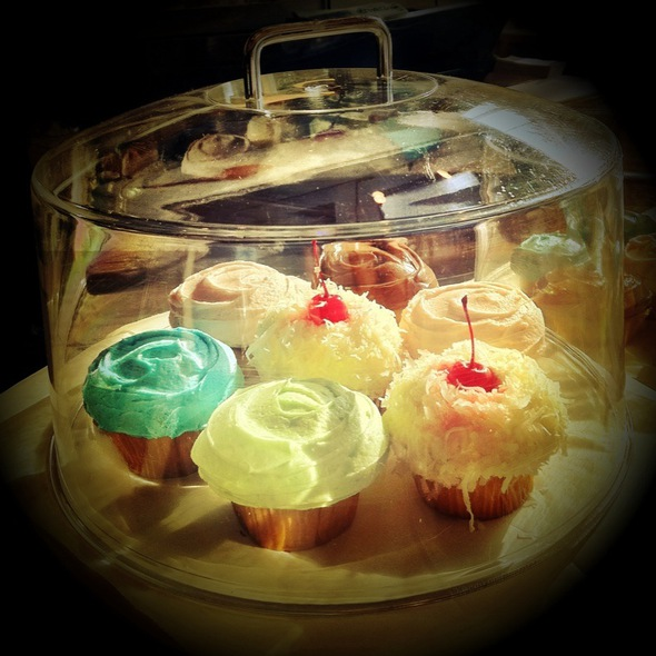 Assorted cupcakes @ Belly General Store