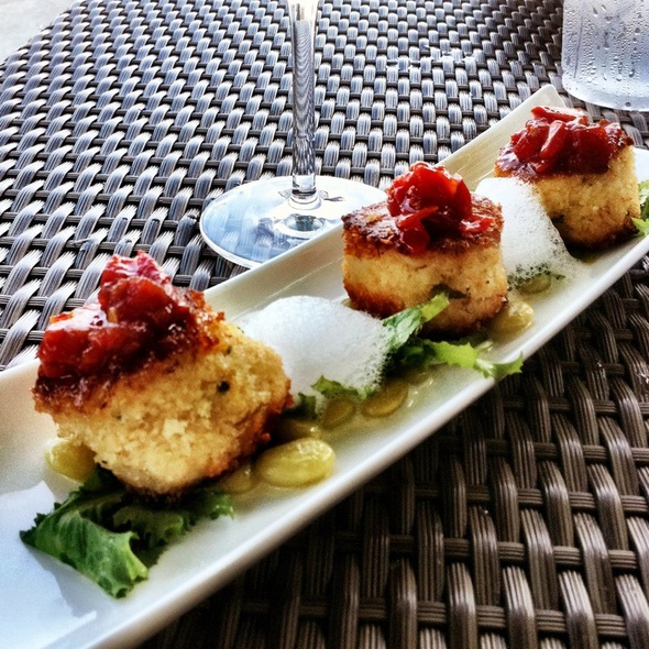 Lump Crab Cakes (Tapas) - BLU Restaurant & Bar, Folly Beach, SC