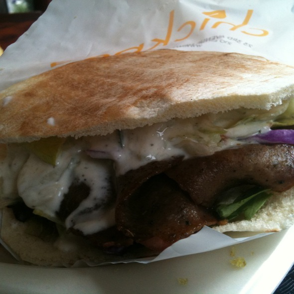 Gyros with fries and Tsatziki @ Cafe 71
