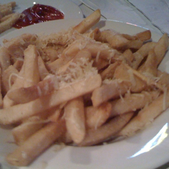 Truffled Fries with Asiago Cheese @ Hukilau Honolulu