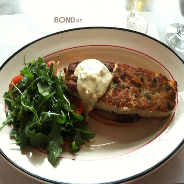 crab cake - Bond 45 - National Harbor, Oxon Hill, MD