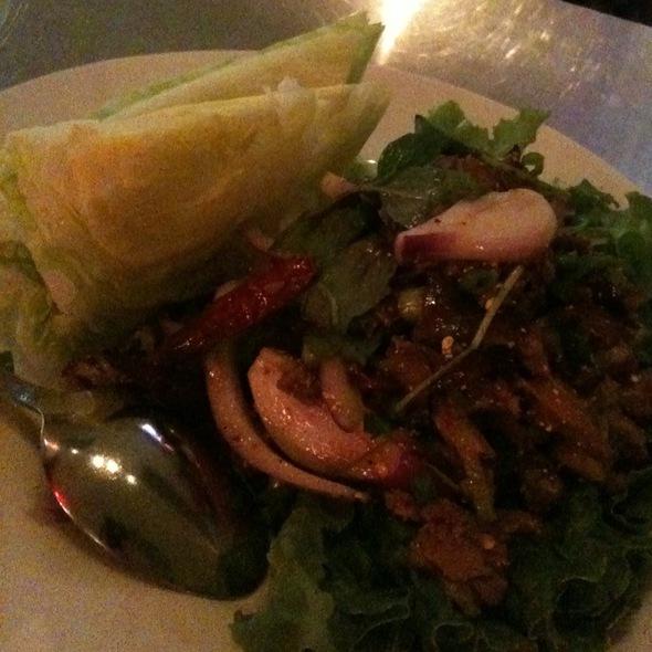 duck larb @ Lers Ros Thai Noodles