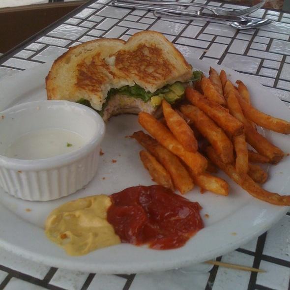 Turkey, Jack And Avocado Sandwich @ St Germains Cafe