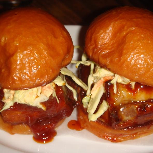 Pork Belly Sliders @ Animal Restaurant