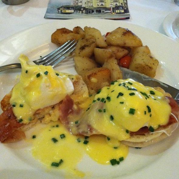 Eggs Benedict with Pancetta @ Kuleto's Italian Restaurant