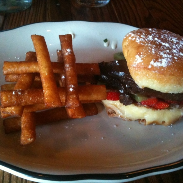 Chocolate Burger @ Brgr Kitchen And Bar