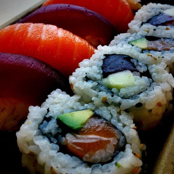 Tuna & Salmon Nigiri & Roll @ Whole Foods Market - Reston
