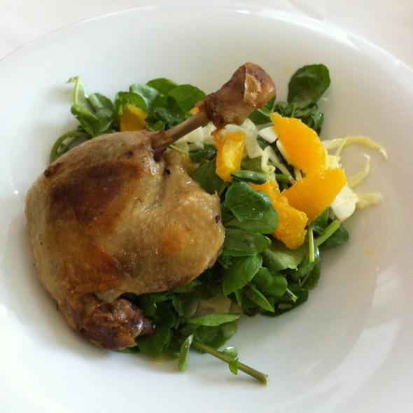 Duck Leg Confit - Hart House Restaurant, Burnaby, BC