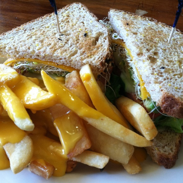 Buddha Supreme Sandwich @ Clarke's Diner