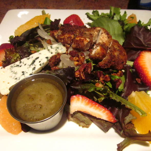 Pecan Crusted Chicken Salad - The Wooster Inn, Wooster, OH