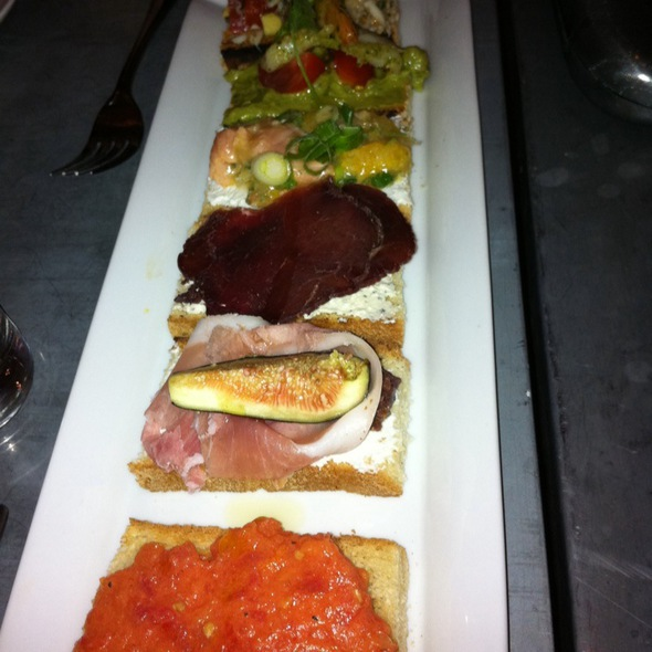 Assorted Crostini @ Fig & Olive Restaurant