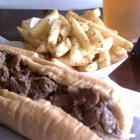 Cheesesteak Sandwich @ Gaglione Brothers Famous Steaks & Subs
