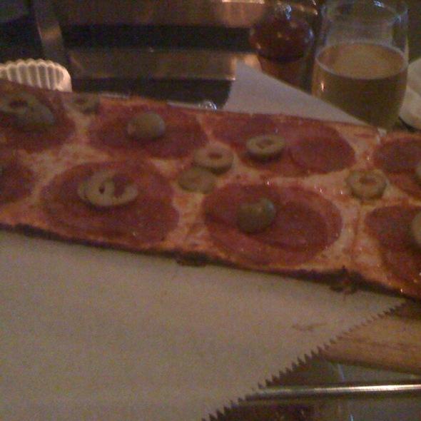 Cured Pepperoni Flatbread - Luciano's - Sugarloaf, Duluth, GA