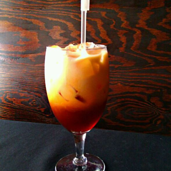 Thai Iced Tea @ THAI ISLAND ORLANDO Restaurant