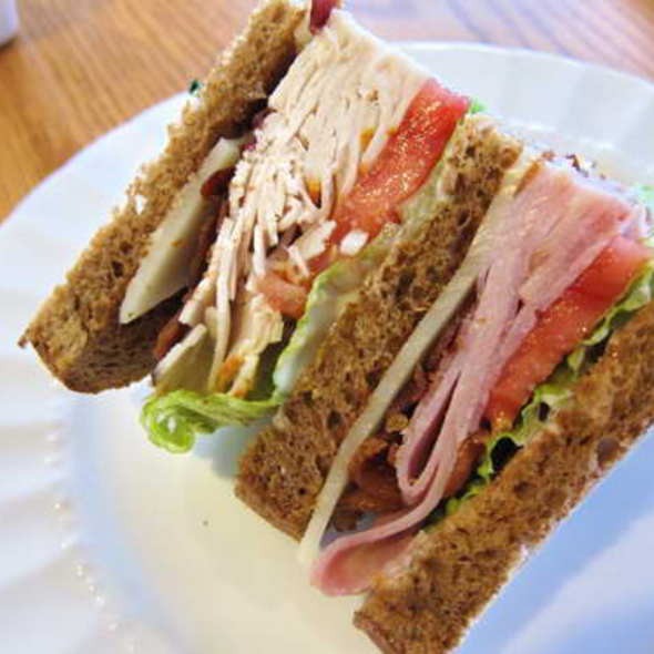 Club Sandwich @ Mama's Bakery