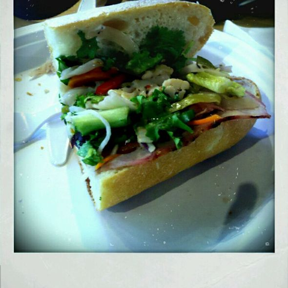Roasted Pork Bahn Mi @ G Street Food