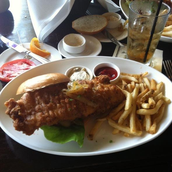 Crispy Fish Sandwich - Tommy Bahama Restaurant & Bar - Sarasota, Sarasota, FL