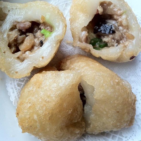 Fried Pork Puffs @ ABC Sea Food Restaurant