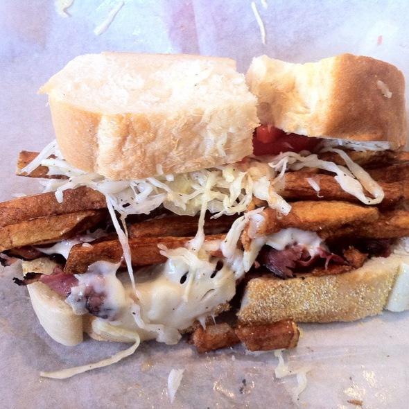 Pastrami Sandwich @ Primanti Bros