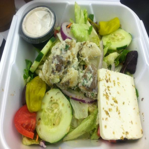 Greek Salad @ Zorba's Greek Taverna