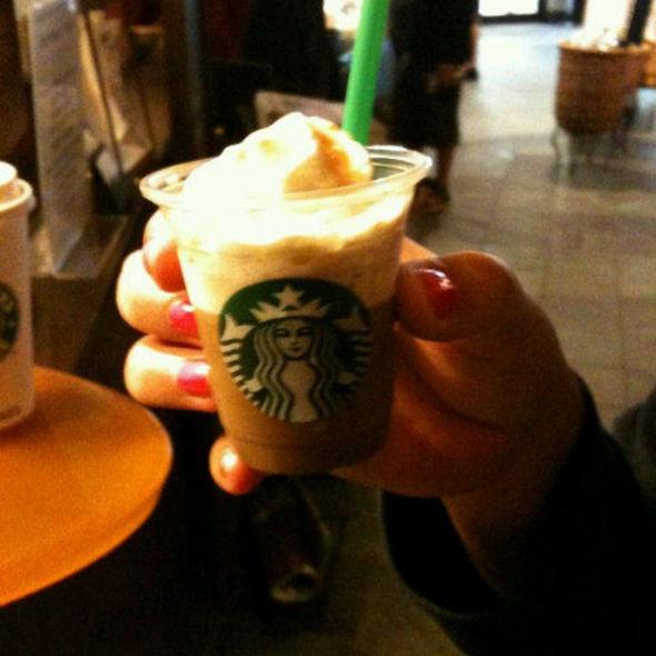 Caramel Frappuccino @ Starbucks
