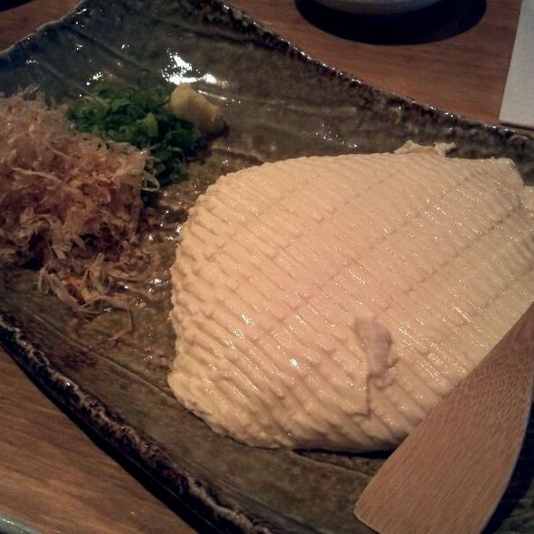 Homemade Cold Fresh Tofu @ Aburiya Raku Restaurant