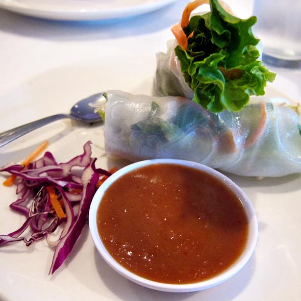 Fresh Spring Rolls @ Bangkok Thai Bistro