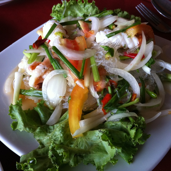 Spicy Seafood Salad (Thai Style)