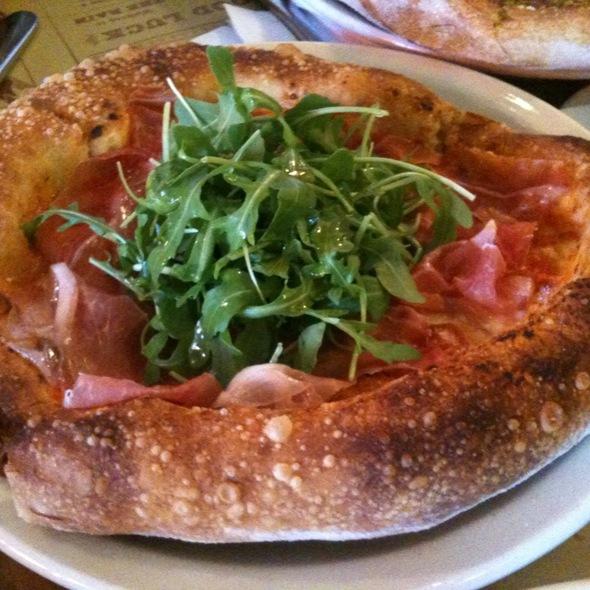 Prosciutto di Parma, Tomato, Arugula & Mozzarella Pizza @ Pizzeria Mozza