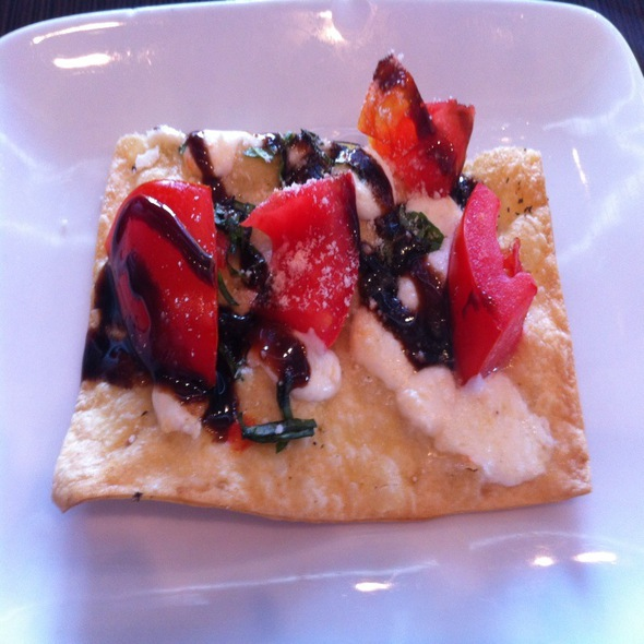 "Vegetable Flatbread ""Pizza"" @ Jet Runway Cafe"